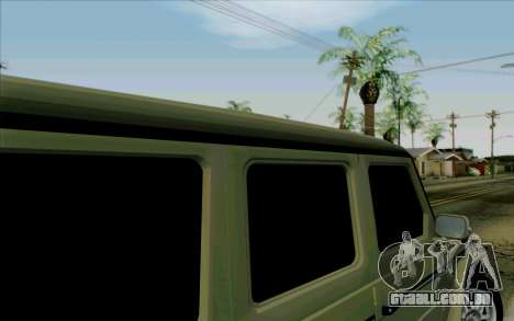 Mercedes-Benz G500 1999 para vista lateral GTA San Andreas