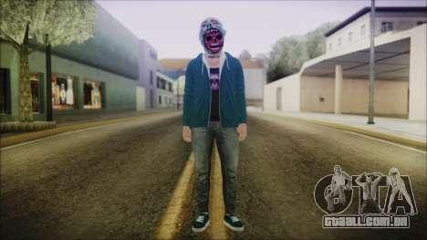 DLC Halloween GTA 5 ZombieCraneo para GTA San Andreas segunda tela