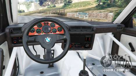GTA 5 BMW M3 (E30) 1991 [Kings] v1.2 vista lateral direita