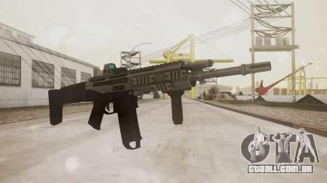 Bushmaster ACR Silver para GTA San Andreas