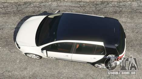 GTA 5 Volkswagen Golf Mk6 v2.0 [ABT] voltar vista