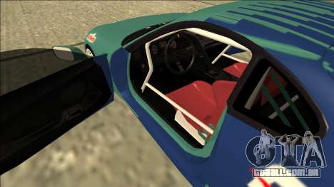 Toyota Supra Falken Drift para GTA San Andreas vista interior