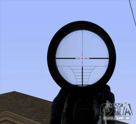 Sniper Scope v2 para GTA San Andreas sétima tela