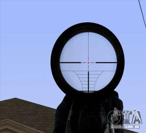 Sniper Scope v2 para GTA San Andreas sétima tela