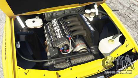 GTA 5 BMW M3 (E30) 1991 [10 strikes] v1.2 traseira direita vista lateral