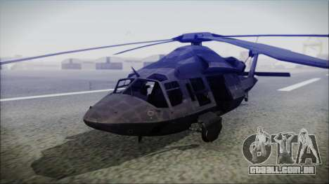 UH-80 Ghost Hawk para GTA San Andreas