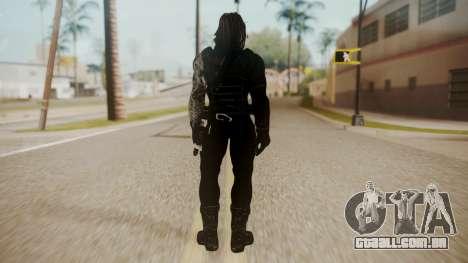 The Winter Soldier para GTA San Andreas terceira tela