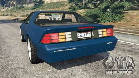 Chevrolet Camaro IROC-Z [Beta 3] para GTA 5