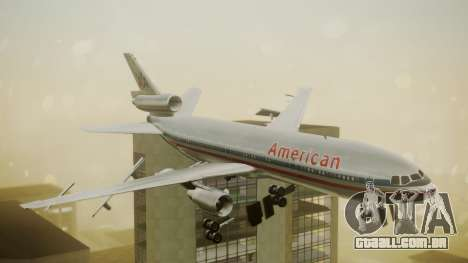 DC-10-10 American Airlines Luxury Liner para GTA San Andreas