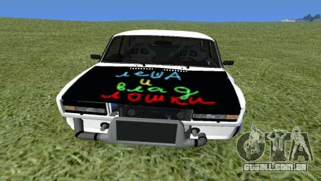 VAZ 2105 Bq Final para GTA San Andreas vista direita