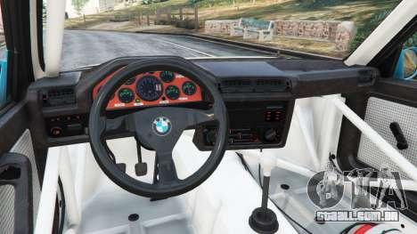 GTA 5 BMW M3 (E30) 1991 [Jeschke] v1.2 vista lateral direita
