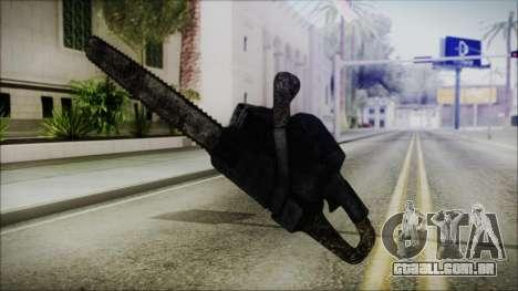 Helloween Chainsaw para GTA San Andreas terceira tela