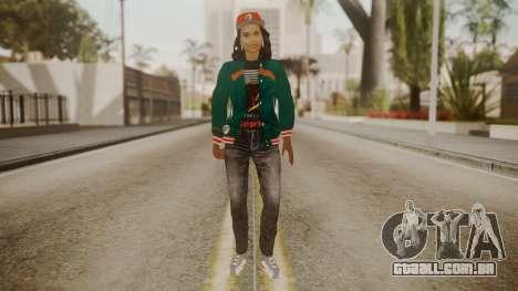 Home Girl Cat para GTA San Andreas segunda tela