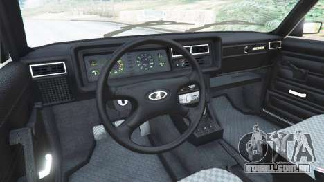 GTA 5 VAZ-2107 [Riva] vista lateral direita