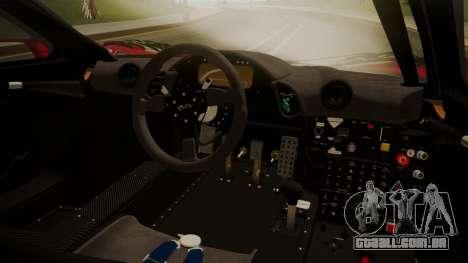 McLaren F1 GTR 1998 Team Lark para GTA San Andreas vista direita