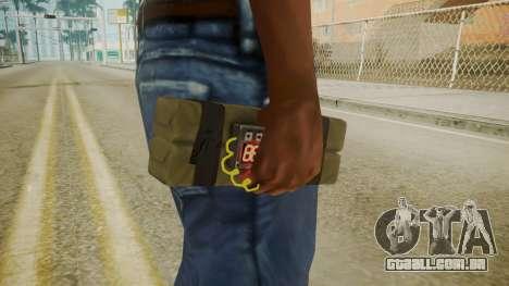 GTA 5 Satchel para GTA San Andreas terceira tela