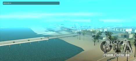SampGUI Violet para GTA San Andreas segunda tela
