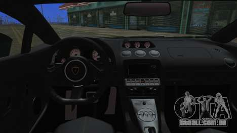 Lamborghini Gallardo LP570-4 2015 Miku Racing para GTA San Andreas vista interior