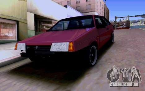 VAZ 2108 V2 para GTA San Andreas vista inferior