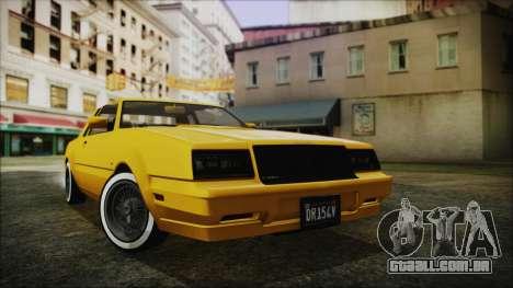 GTA 5 Willard Faction Custom Bobble Version IVF para GTA San Andreas