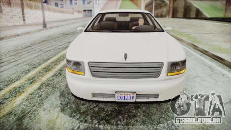 GTA 5 Albany Washington IVF para GTA San Andreas vista direita