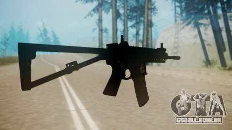 KAC PDW para GTA San Andreas terceira tela