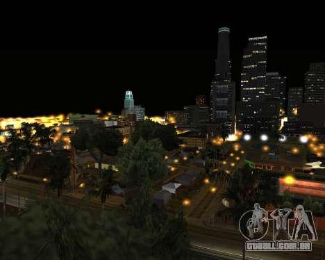 Project 2dfx 2015 para GTA San Andreas quinto tela