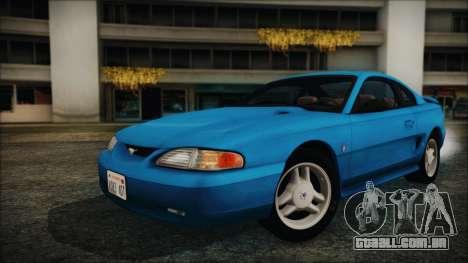 Ford Mustang GT 1993 v1.1 para GTA San Andreas
