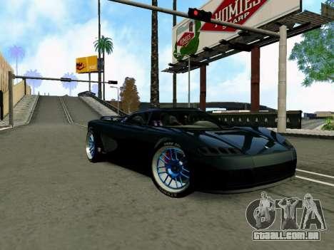 Anti-Lag Enb (Baixa de PC) para GTA San Andreas por diante tela