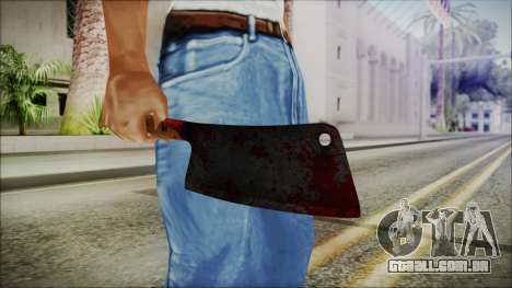 Helloween Butcher Knife Square para GTA San Andreas