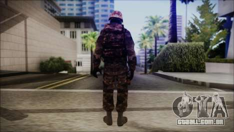Chinese Army Desert Camo 1 para GTA San Andreas terceira tela