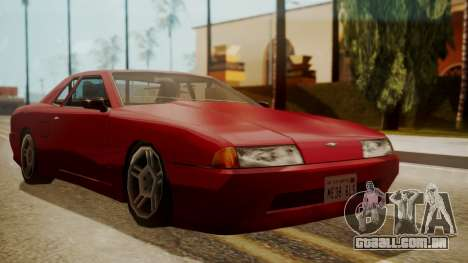 Elegy FnF Skins para GTA San Andreas traseira esquerda vista