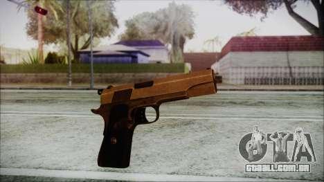 Original Colt 45 HD para GTA San Andreas segunda tela
