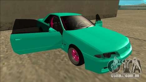 Nissan Skyline R32 para o motor de GTA San Andreas