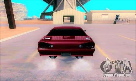 Elegy From Life para GTA San Andreas vista direita