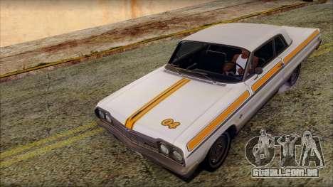 Chevrolet Impala SS 1964 Final para o motor de GTA San Andreas