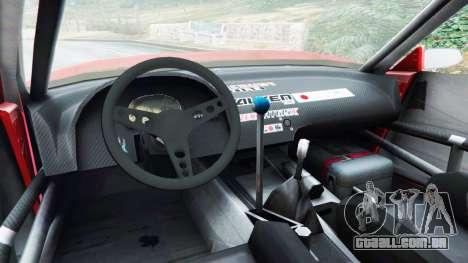 Nissan Silvia S13 v1.2 [with livery] para GTA 5