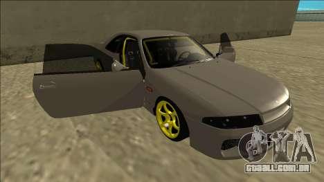 Nissan Skyline R33 Drift para o motor de GTA San Andreas
