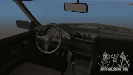 BMW 325i E30 para GTA San Andreas vista traseira