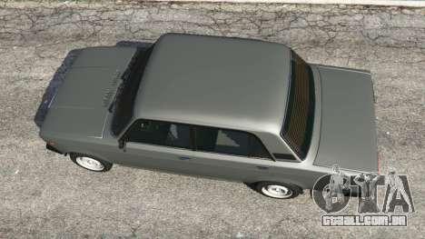 GTA 5 VAZ-2107 [Riva] voltar vista