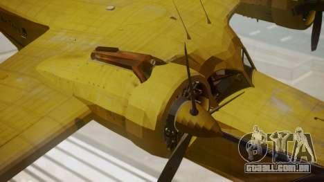 Grumman G-21 Goose VHLXD para GTA San Andreas vista direita
