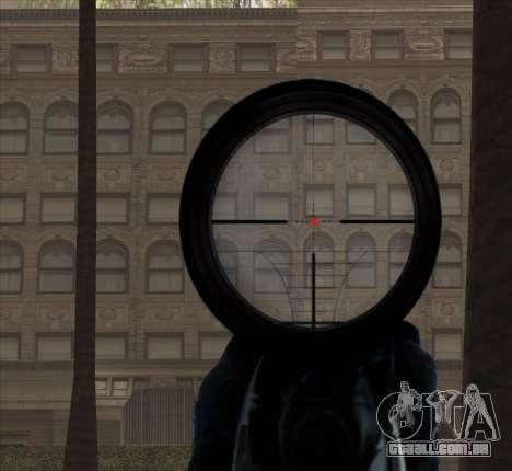 Sniper Scope v2 para GTA San Andreas oitavo tela