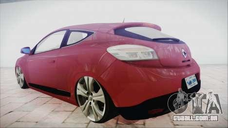 Renault Megane 3 para GTA San Andreas esquerda vista