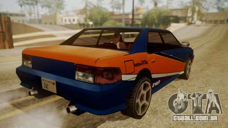 Sultan FnF Skins para GTA San Andreas vista direita