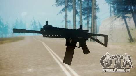 KAC PDW para GTA San Andreas segunda tela