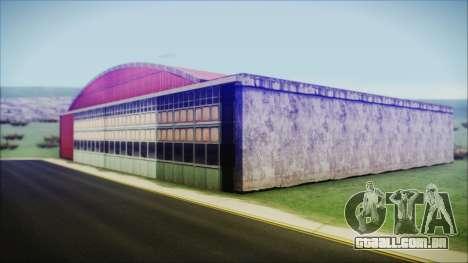 HD Desert Hangar Mipmapped para GTA San Andreas segunda tela