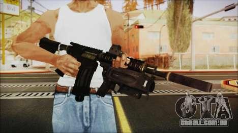 M4 SpecOps para GTA San Andreas terceira tela