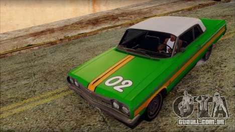 Chevrolet Impala SS 1964 Final para GTA San Andreas interior