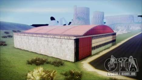 HD Desert Hangar Mipmapped para GTA San Andreas