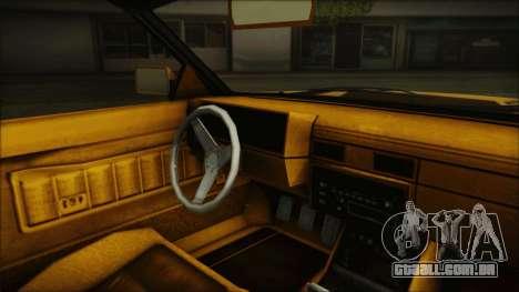 GTA 5 Willard Faction Custom Bobble Version IVF para GTA San Andreas vista direita